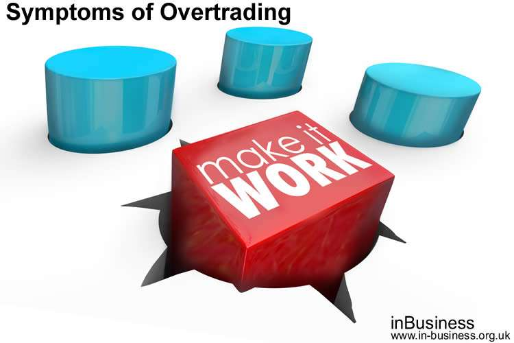 Symptoms of Overtrading